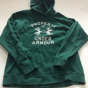 Under Armour Men's Green Hunting Sweatshirt
